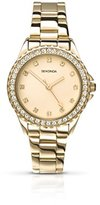 Sekonda Women's Quartz Watch with Gold Dial Analogue Display and Gold Stainless Steel Bracelet 4251.27