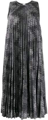 M Missoni pleated zigzag dress