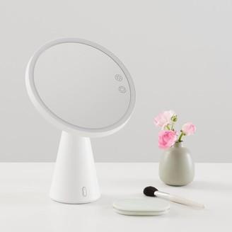 Pottery Barn Teen Light Up Beauty Mirror With Bluetooth Speaker