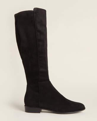 Marc Fisher Black Humvi Knee-High Boots