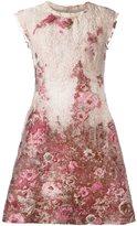 Alberta Ferretti floral jacquard dress