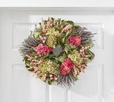 Pottery Barn Live Lavender & Hydrangea Wreath