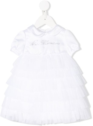 Miss Blumarine Ruffled Tutu Dress