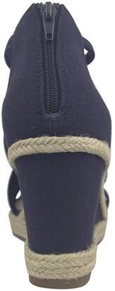 Impo Tacara Stretch Memory Foam Espadrille Platform Wedge Sandal