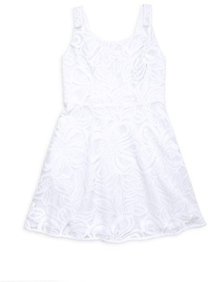 Lilly Pulitzer Girl's Daffodil A-Line Dress