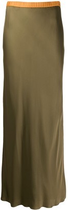 Helmut Lang Satin Skirt