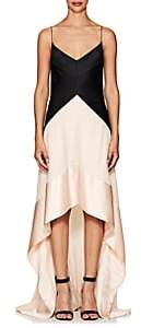 Narciso Rodriguez Women's Silk Satin & Georgette Gown - Black