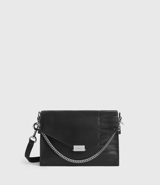 AllSaints Redchurch Leather Shoulder Bag
