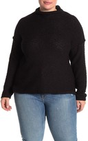 MelloDay Popcorn Knit Sweater (Plus Size)