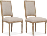 Deylon Set of 2 Dining Chairs, Direct Ship