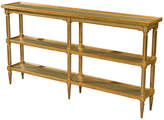 """Theodore Alexander Spring Light 68"""" Console - Gold"""