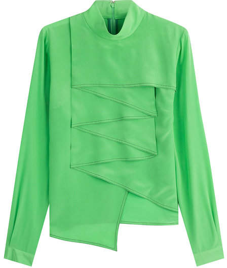 Marco De Vincenzo Silk Blouse