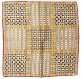 Delvaux Printed Square Scarf