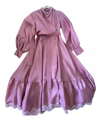 Stine Goya Pink Synthetic Dresses