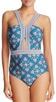 Laundry by Shelli Segal Cutout One Piece Swimsuit