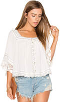 Free People See Saw Top in White