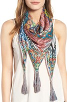 Johnny Was Women's Frame Square Silk Scarf