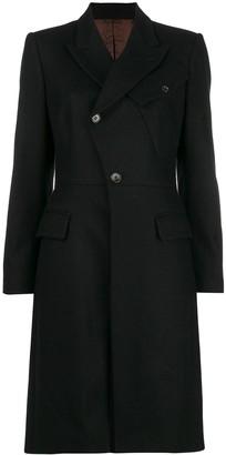 Jean Paul Gaultier Pre Owned Diagonal Buttoned Midi Coat