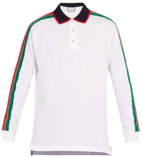 0efcbf3b9 Gucci Stripe Polo Shirts - ShopStyle