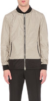 Burberry Printed shell bomber jacket