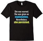 She Persisted T-Shirt for Elizabeth Warren