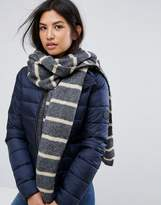 Vero Moda Knitted Stripe Scarf