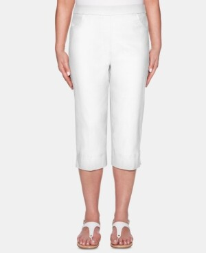 Alfred Dunner Classics Pull-On Capris
