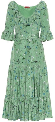 Altuzarra Helden floral silk midi dress