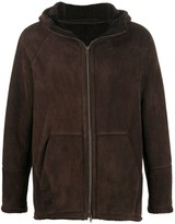 Salvatore Santoro shearling lined coat
