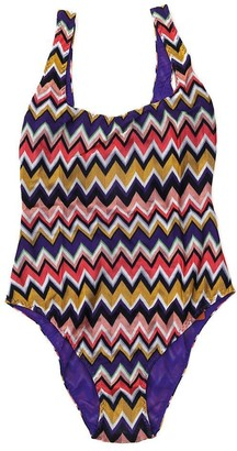 Missoni Mare Crotchet Patterned One-Piece Swimsuit