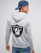 Majestic Raiders Hoodie With Back Print
