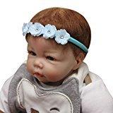 TRENDINAO Lovely Flower Elastics Headband Hair HeadBand For Newborns Babys (#D)
