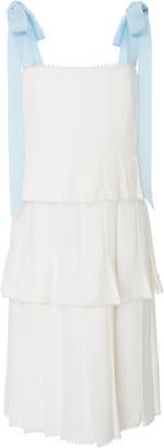 Carolina Herrera Hildie Pleated Dress