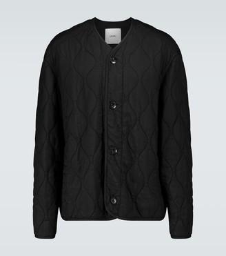 Oamc Combat quilted liner jacket