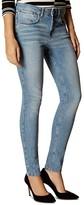 Karen Millen Skinny Jeans in Pale Denim