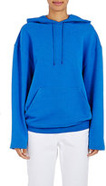 Balenciaga Women's French Terry Oversized Hoodie-BLUE