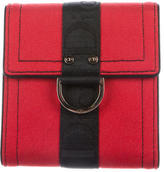 Christian Dior Logo-Accented Canvas Wallet