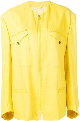 Versace Pre-Owned 1980'S zip-front jacket