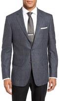 Hart Schaffner Marx Classic Fit Plaid Wool & Cashmere Sport Coat