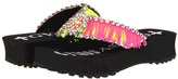 Gypsy SOULE Showgirl- Lug Wedge (Black) - Footwear