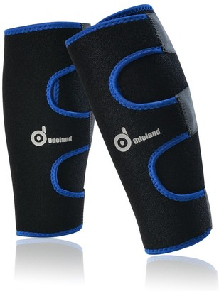 """Overstock calf compression sleeve one pair , Sport Calf Brace Sleeve Support Leg Compression Socks for Running - 7'10"""" x 9'10"""""""