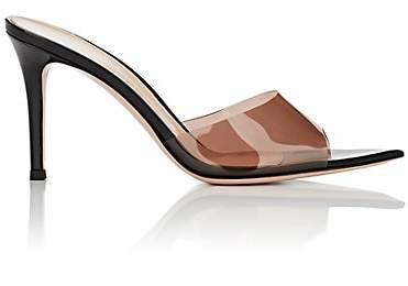 Gianvito Rossi Women's Patent Leather & PVC Mules - Black
