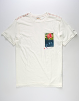 RVCA Rose Sky Mens T-Shirt