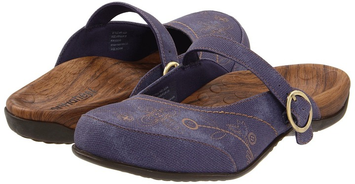 Orthaheel Melissa Mule (Denim) - Footwear