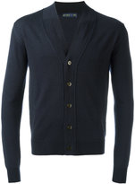 Etro v-neck cardigan - men - Wool - S