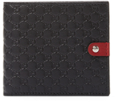 Gucci Embossed Snap Bifold Wallet