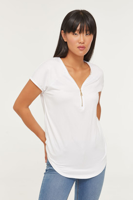 Ardene Eco-Conscious Recycled Fabric Zipped Top