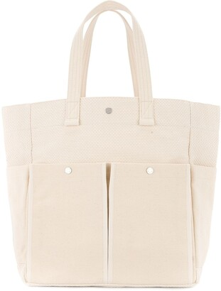 Cabas Botanical Tote Bag