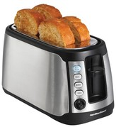 Hamilton Beach 4-Slice Keep Warm Toaster- 24810
