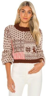 Free People Snow Globe Pullover